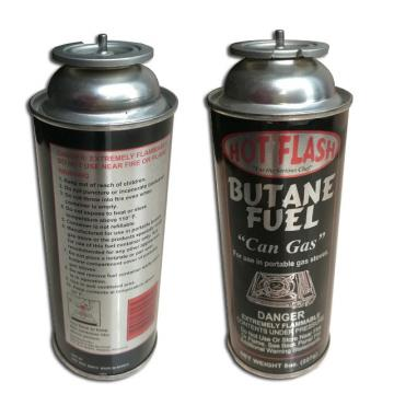 300ml / 250ml / 220ml lighter gas can and universal butane gas bottle