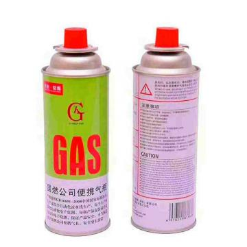 227g Round Shape Portable camping butane fuel can gas for portable gas stove