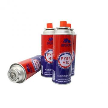 Gas butane cartridge empty fuel canister gas cylinder 190 gr