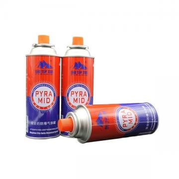 Explosion Proof Good quality low pressure empty gas tank butane gas canister