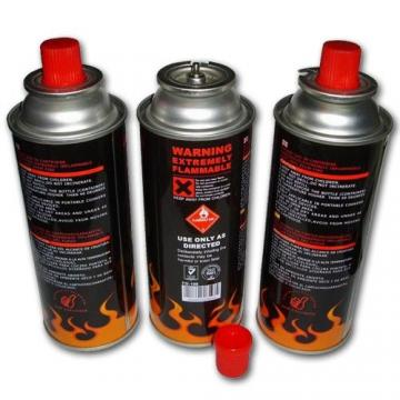 High Performance Butane Fuel Gas Canisters for portable camping stoves