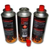 Butane mixture 190 gr Aerosol Can Empty Camping Refill Butane Gas Cartridge Canister
